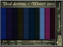 Denim - Colors of winter 2013 Cool SL Add
